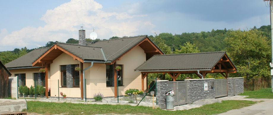 Projekty rodinných domov - Ing. arch. Radovan Jankovič - R-ART